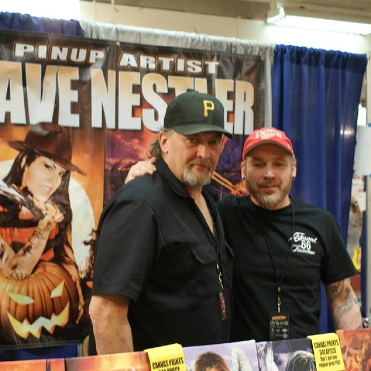 Motorcity Tattoo Expo Detroit with Dave Nestler