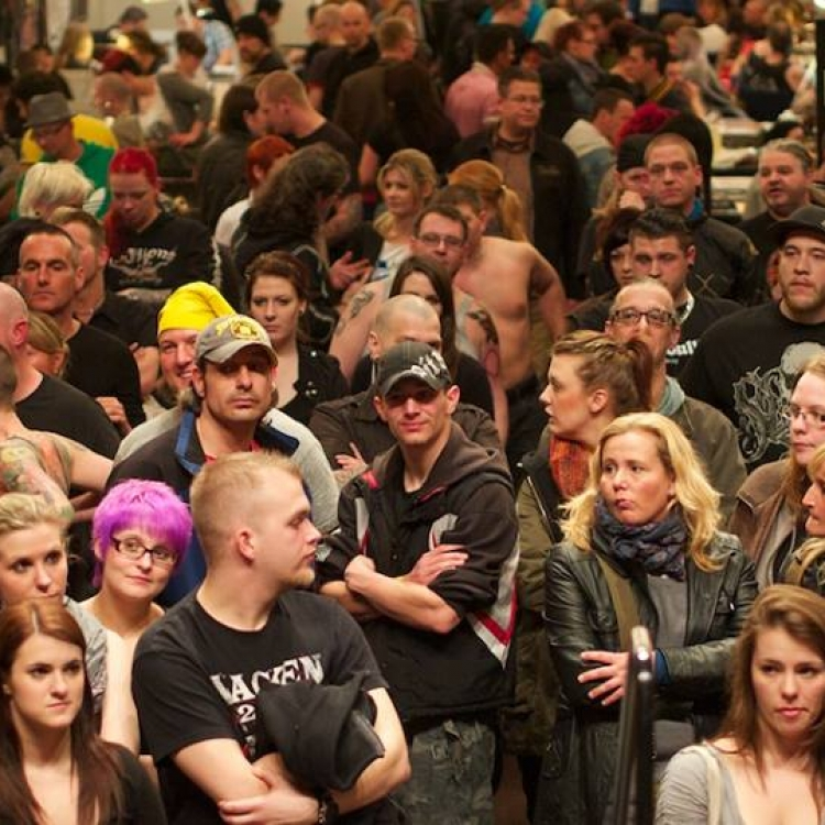 crowded convention