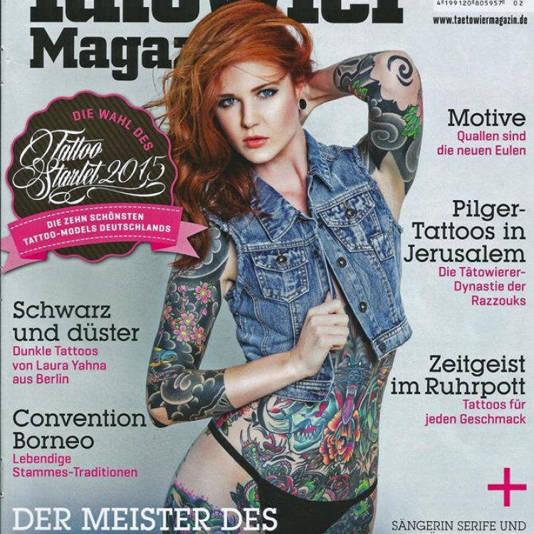 featured in tatowier magazin