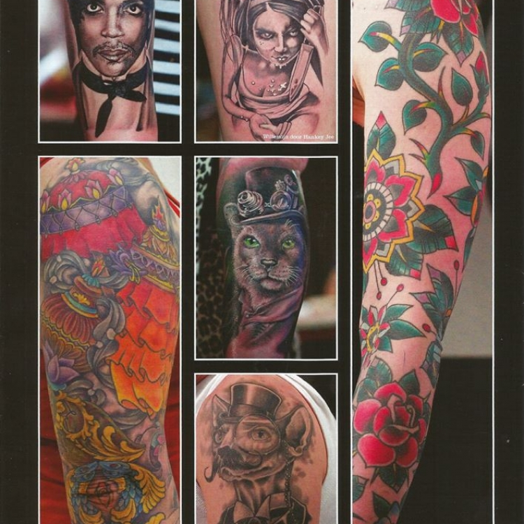 featured in the Tattoo Planet, tattoo magazine