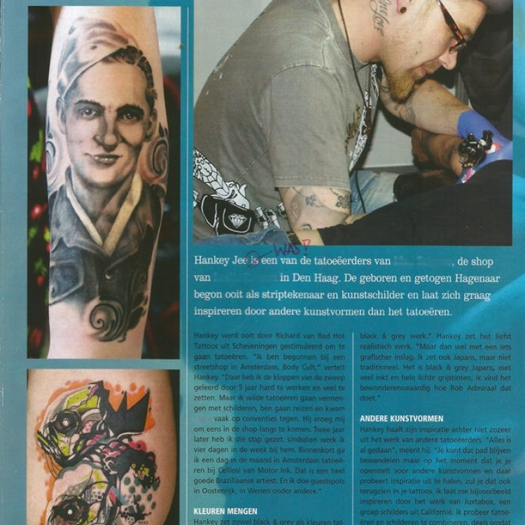 interview tattoo magazine